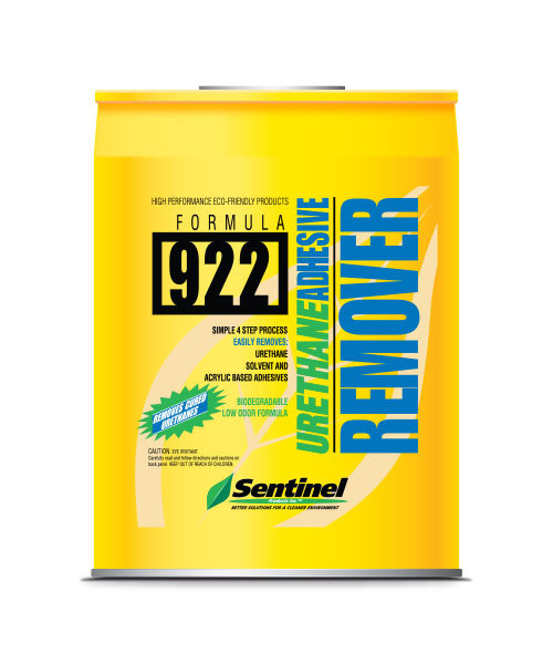 Sentinel 922 Urethane Adhesive Remover (5 Gal.)