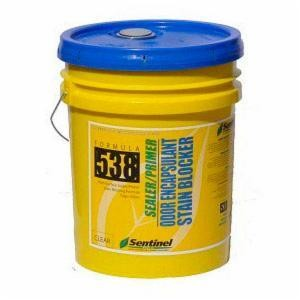 Sentinel 538 CLEAR Smoke & Odor Encapsulant (5 Gal.)