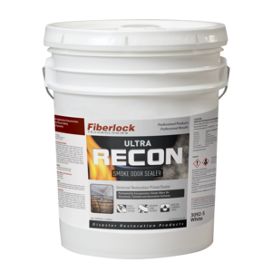 Fiberlock Recon Ultra WHITE Smoke & Odor Sealer (5 Gal.)