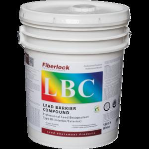 Fiberlock LBC Lead Encapsulant/Sealant, WHITE (5 Gal.)