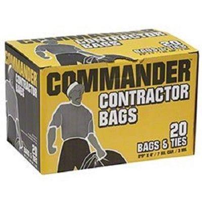 Commander Contractor Bags (20ct.) [33x48, 3.0mil]