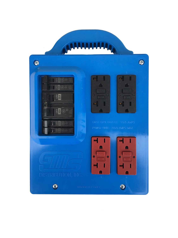 GMS Portable Power Distribution Center - BLUE
