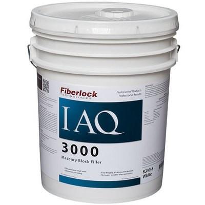 Fiberlock IAQ 3000 Block Filler WHITE (5 Gal.)