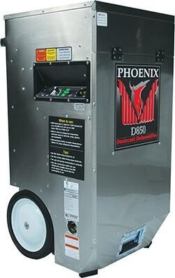 Phoenix D850 Portable Desiccant Dehumidifier