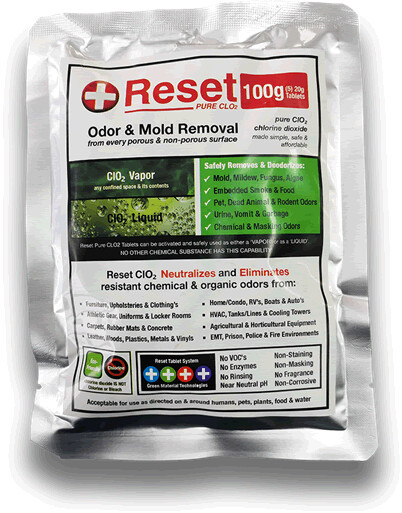 Reset Red Chlorine Dioxide Pack (100g)
