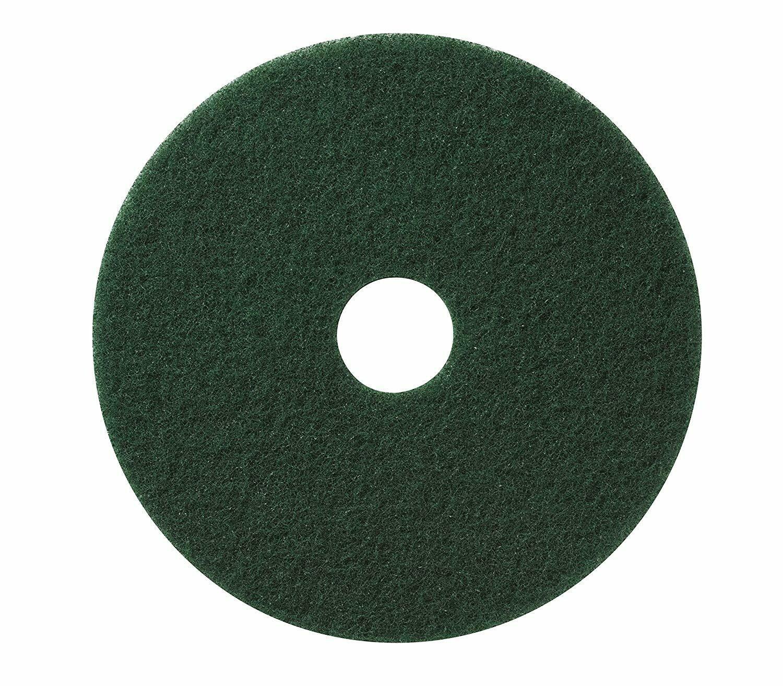 "Americo 400320 Scrubbing Pads, 20"" Diameter, Green"