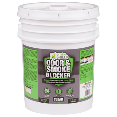 Enviroshield Odor and Stain Blocker, Clr (5 gal.)