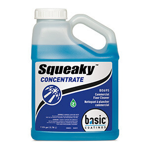 Basic Coatings Squeaky Concentrate Glass Cleaner (Gal.)