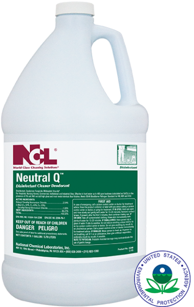 Neutral-Q Disinfectant Cleaner (Gal)