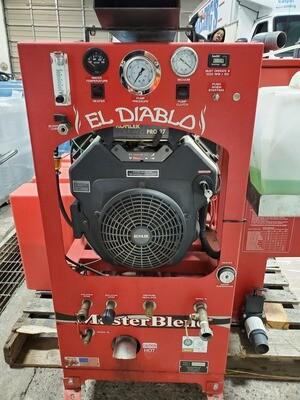 El Diablo Diesel Truckmount  *USED*
