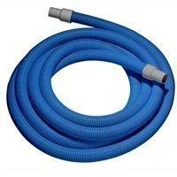 """1.5"""" x 25' - Blue Vacuum Hose with Cuffs"""