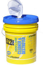 Sentinel 522 Smoke & Odor Destroyer Wipes (5 gal.)
