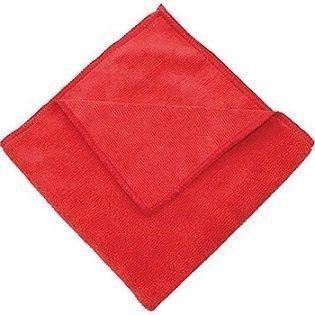 Red Microfiber Towel    16X16
