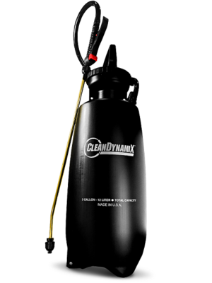 Clean DynamiX 3gl Premium Pump Sprayer w/ Relief Valve