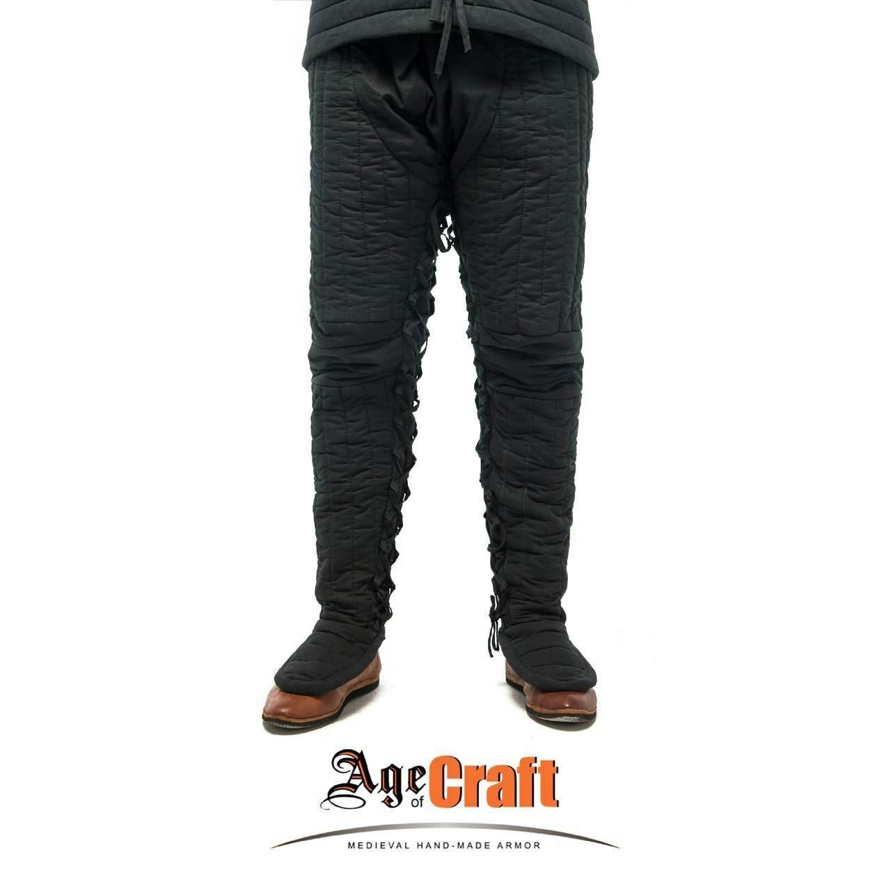 (AOC) Cotton & Wool Padded Pants