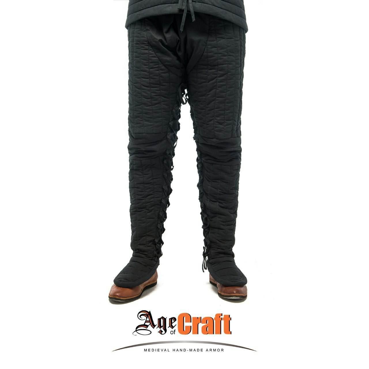 (AOC) Linen & Wool Padded Pants