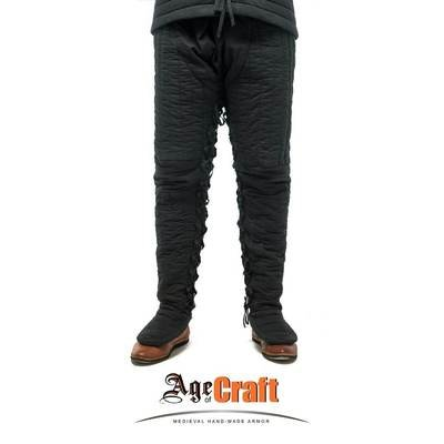 (AOC) Linen & Wool Padded Pants