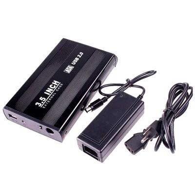 Enclosure HDD 3.5  etouch  aluminio USB 2.0 soporta  4tb HDD FXZ3505SA2