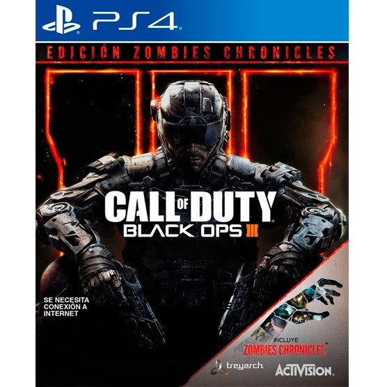 PS4 Call of Duty Black ops 3 + Zombie Chronicles