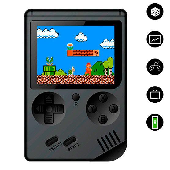 Consola con 400 videojuegos Guatemala Incluye Mario, Contra, Donkey Kong, Pacman y mas