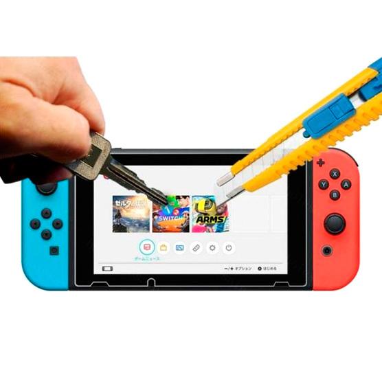 Vidrio templado para Switch