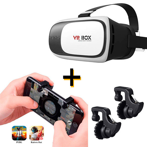 Gatillos para Celular L1R1 y Lentes VR Box 2.0