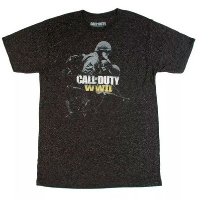 TSHIRT WW2 CALL OF DUTY Negra original (small)