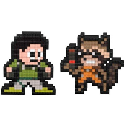 Pixel Pals ROCKET VS CHRIS REDFIELD (FIGURA CON LUZ)
