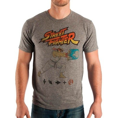 TSHIRT RYU HADUKEN STREET FIGHTER original