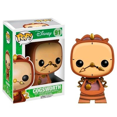 Funko Pop Disney Beauty And The Beast Cogsworth