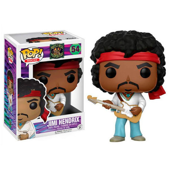 Funko Pop Rocks Jimi Hendrix