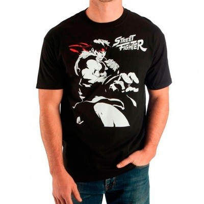 TSHIRT BLACK PUNCH STREET FIGHTER original Small