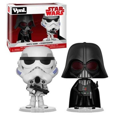 Funko Pop Vynl Darth Vader Stormtrooper Star Wars