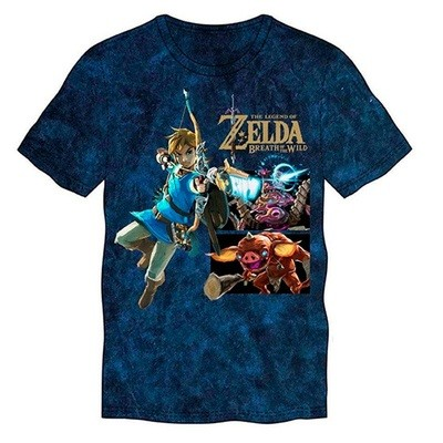 TSHIRT Zelda  LINK WITH MONSTER Nintendo original (large)