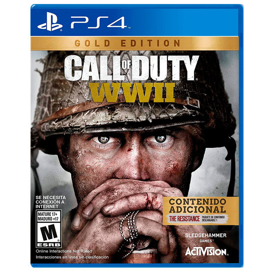 PS4 Call of duty WWII Gold Edition