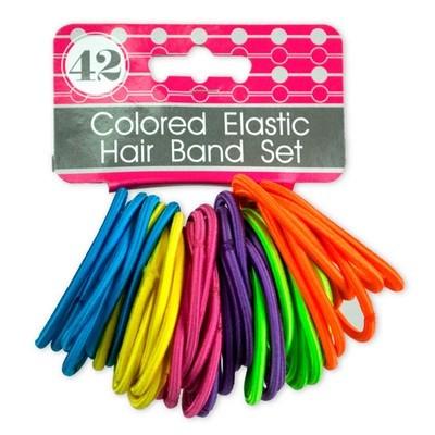 Set de Bandas elasticas de colores (42 unidades)
