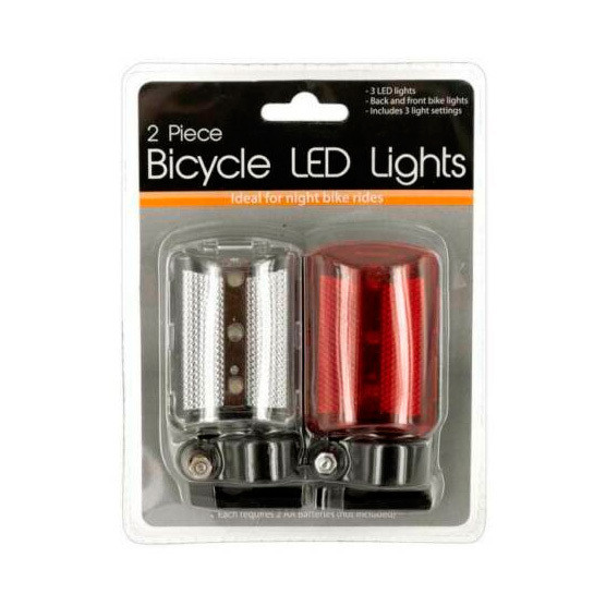 Set de luces LED para bicicleta