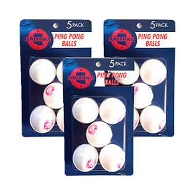 Pelotas de ping pong (5 unidades)
