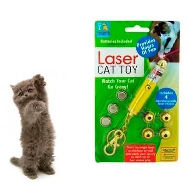 Juguete de luz laser para gatos