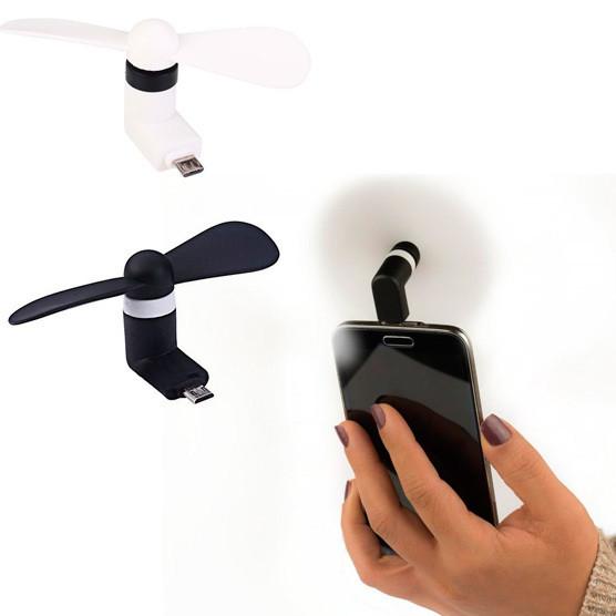 Ventilador USB para celular Blanco