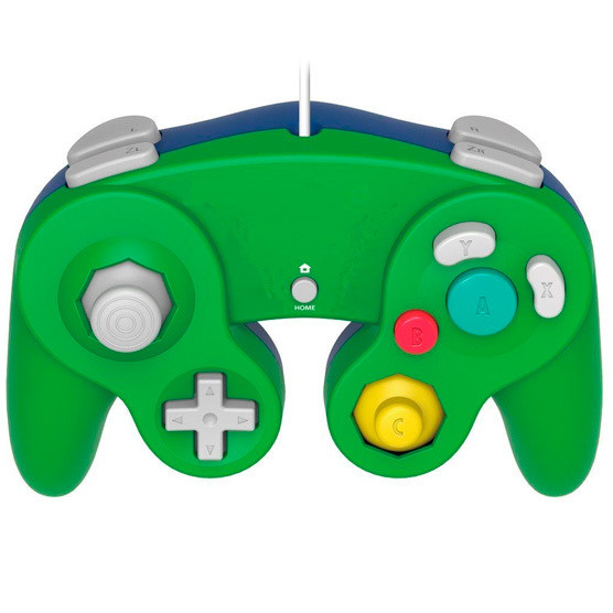 Control Para Wii Y Game Cube Verde (Hydra Usa)