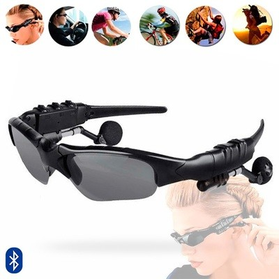 Lentes de Sol  Bluetooth MP3+ Micro