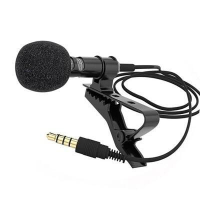 Micrófono de Solapa Conexión 3.5mm
