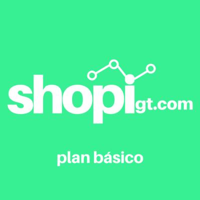 Shopigt: Plan Básico (1 Mes)