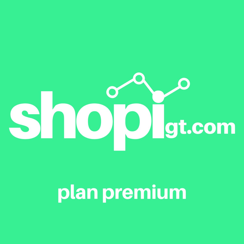 Shopigt: Plan Premium (1 Mes)