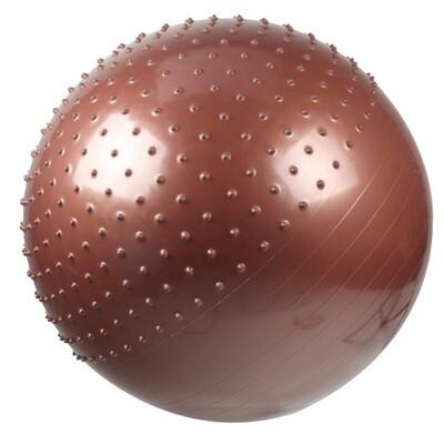 Pelota Pilates Yoga 65cms Mitad Masajeadora