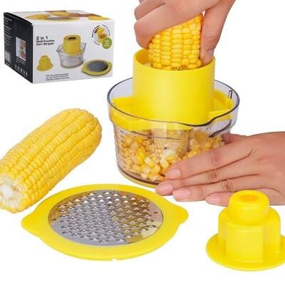 Desgranador de elotes 2 en 1 (corn Stripper)