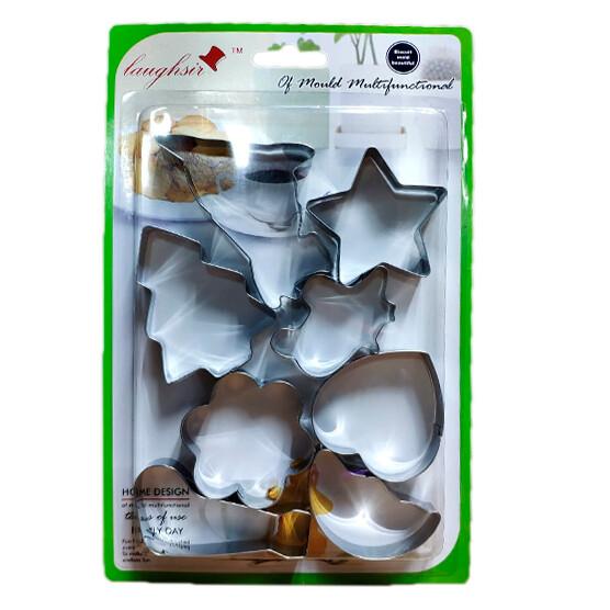 Moldes para galletas (8 unidades)