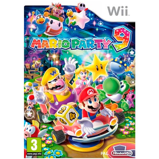 Wii Mario Party 9 (usado Garantizado)