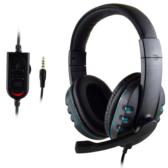 Audifonos Gaming para Ps4, Xbox One, Switch, PC, 3.5mm  MARCA HYDRA USA